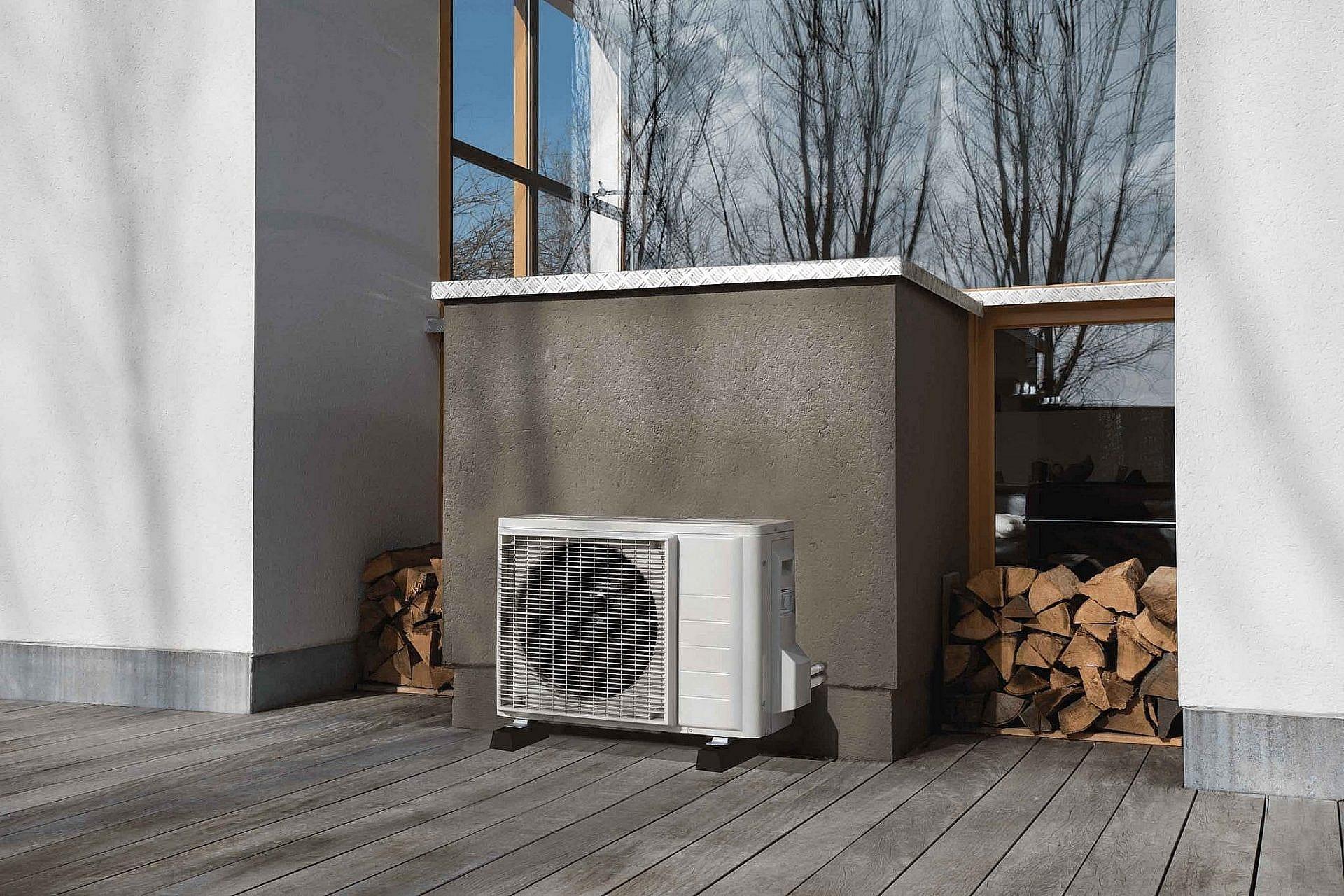 Varmepumper ved en bolig og et sommerhus i Hanstholm